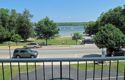 Beach House Grandview View, Fish Creek lodging in Door County