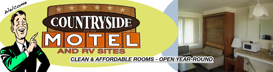 Countryside logo and room