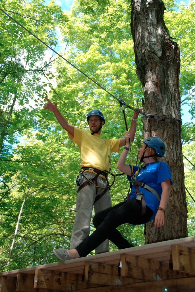 Zip Lining in trees reduced