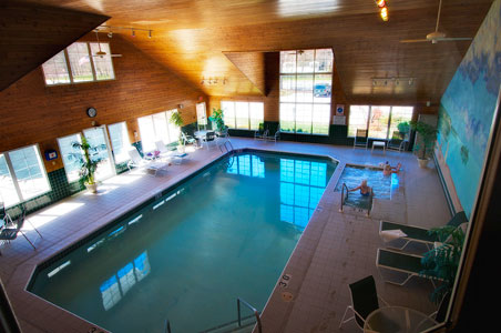 High Point Inn Indoor pool