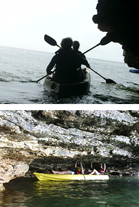 Lakeshor Adventures cave-point-kayak