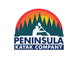 Peninsula Kayak Company Logo 300 by