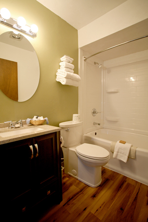 Pine Grove Resort new bathroom 2018 REVIEW