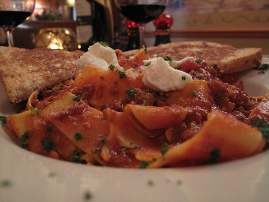 Galileo's Pasta Bolognese in Egg Harbor Wi